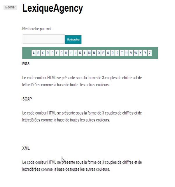 lexiqueAgency