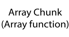 array_chnku